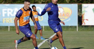 Com treino tático, Bahia segue preparação para encarar o Palmeiras