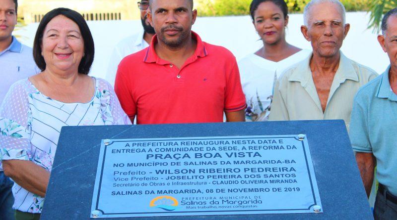 PREFEITURA DE SALINAS REALIZOU GRANDES INAUGURAÇÕES NA TARDE DESTA SEXTA-FEIRA (08)