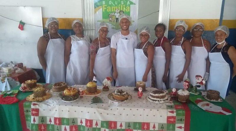 Aconteceu na tarde de ontem (04) a Certificação do Curso de Culinária Natalina