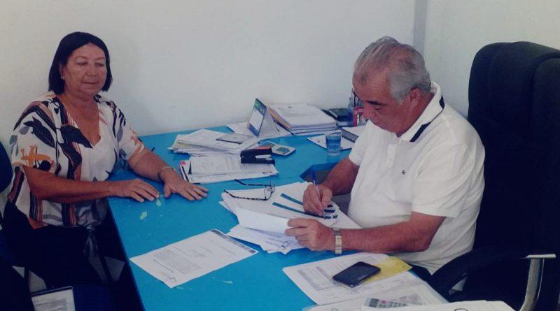 PREFEITURA DE SALINAS DOA ÁREA PARA CONSTRUÇÃO DA NOVA SEDE DO COLÉGIO ESTADUAL JURACY MAGALHÃES NO MUNICÍPIO.