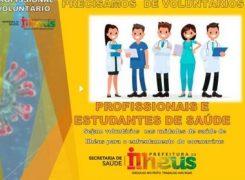 Ilhéus: Prefeitura abre vagas para voluntários da Saúde para ações contra Covid-19